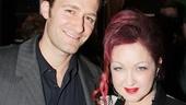 Celebs at Kinky Boots — Matt Morrison — Cyndi Lauper