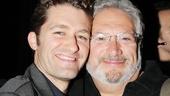 Celebs at Kinky Boots — Matt Morrison — Harvey Fierstein