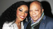 Quincy Jones at 'Motown' — Valisia LeKae — Quincy Jones
