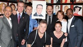 Tom Hanks at Sardi's — George C. Wolfe — Christopher McDonald — Peter Gerety — Brian Dykstra — Tom Hanks — Deirdre Lovejoy — Maura Tierney — Courtney B. Vance