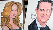 Tom Hanks at Sardi's — Rita Wilson — Tom Hanks