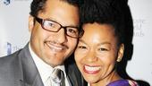 2013 Theatre World Awards — Brandon J. Dirden — Crystal A. Dickinson