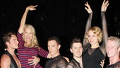 Christie Brinkley at Chicago -  Christie Brinkley - Amy Spanger - Nathan Madden - Amos Wolff - Denny Pashcall - Brian O'Brien