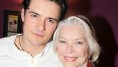 Celebs at Romeo and Juliet - Orlando Bloom - Ellen Burstyn