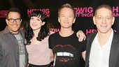OP - Hedwig - Meet and Greet - Michael Mayer - Lena Hall - Neil Patrick Harris - David Binder