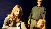 Chloe Grace Moretz as Caitlin Gabriel, Michael O'Keefe as Nolan Gabriel & Jennifer Westfeld as Elizabeth Gabriel in The Library