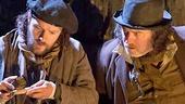 Padraic Delaney as Babbybobby & Pat Shortt as Johnnypateenmike in The Cripple of Inishmaan