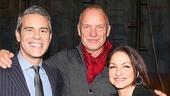 The Last Ship - Backstage - 11/14 - Andy Cohen - Sting - Gloria Estefan