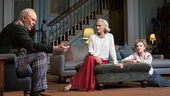 John Lithgow as Tobias, Glenn Close as Agnes &  Lindsay Duncan as Claire in A Delicate Balance