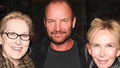 Meryl Streep - Sting and - wife - Trudie Styler
