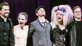Hedwig and the Angry Inch - Lena Hall - Final Show - 4/15 - Andrew Rannells - John Cameron Mitchell - Neil Patrick Harris - Lena Hall - Michael C Hall