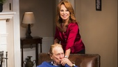 Greg Mullavey as Bill and Marlo Thomas as Alice in Clever Little Lies