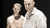 Russell Tovey as Rodolpho and Mark Strong as Eddie in A View From the Bridge
