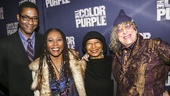 The Color Purple - Opening - 12/15 - Stephen Bray, Brenda Russell, Alice Walker and Allee Willis