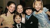 Photo Op - Mary Poppins Opening - Kathryn Faughnan - Alexander Scheitinger - Katherine Leigh Doherty - Henry Hodges - Delaney Moro