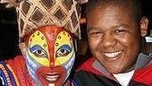 Photo Op - Kyle Massey at The Lion King - Tshidi Manye - Kyle Massey