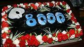 Photo Op - Phantom 8,000th Performance - cake