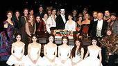Photo Op - Phantom 8,000th Performance - company with cake