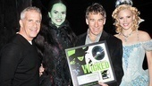 Wicked Cast Recording Goes Double Platinum – Marc Platt - Mandy Gonzalez - Stephen Schwartz - Katie Rose Clarke