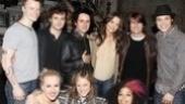 Tom Cruise at American Idiot  -David Larsen – Jeanna de Waal – Van Hughes – Libby Winters – Billie Joe Armstrong –Katie Holmes – Rebecca Naomi Jones – Tom Cruise – Justin Guarini