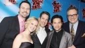 Sister Act Opening Night –  Dan Knechtges – Patti Murin – Lewis Flinn – Jason Tam – Douglas Carter Beane
