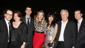 Seminar Opening Night – Sam Gold – Jerry O'Connell – Hettienne Park – Hamish Linklater – Theresa Rebeck – Alan Rickman – Lily Rabe