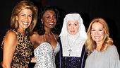 Kathie Lee and Hoda at Sister Act – Hoba Kotb – Patina Miller – Carolee Carmello – Kathie Lee Gifford