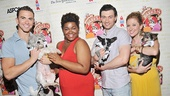Ghost stars Richard Fleeshman, Da'Vine Joy Randolph, Bryce Pinkham and Cassie Levy are out in full force to help Broadway Barks.