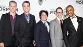 'Book of Mormon' LA Opening—Mike McGowan; Jonathan Cullen; Jon Bass; Jeffrey David Sears; Christian Dante White