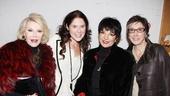 The Performers – preview opening – Joan Rivers – Amanda Lipitz – Liza Minnelli – Robyn Goodman
