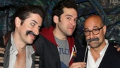 Stanley Tucci at Peter and the Starcatcher - Matthew Saldivar - Adam Chanler-Berat - Stanley Tucci