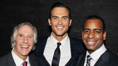 The Performers - opening night - Henry Winkler - Cheyenne Jackson - Daniel Breaker