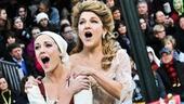 Cinderella at Macy's Parade - Laura Osnes- Victoria Clark
