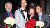 Kinky Boots Opening- Harvey Fierstein- Jerry Mitchell- Cyndi Lauper- Stephen Oremus