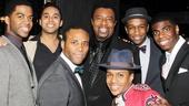 'Motown' Family Night — Julius Thomas III — Jesse Nager — Dennis Edwards — Ephraim Sykes — Donald Webber Jr. — Jawan M. Jackson