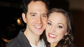 2013 Tony Nominee Brunch — Santino Fontana — Laura Osnes