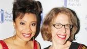 2013 Theatre World Awards — Shalita Grant — Jackie Hoffman