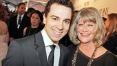 Tony Red Carpet- Rob McClure- Judith Ivey