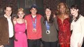 Kinky Boots - Olympians Nick Goepper & Devin Logan - OP - Andy Kelso - Annaleigh Ashford - Nick Goepper - Devin Logan - Billy Porter - Lena Hall