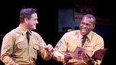 Colin Donnell as Monty & Joshua Henry as Flick in Violet