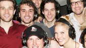 Bullets Over Broadway - Recording Session - OP - 4/14 - company