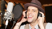 Bullets Over Broadway - Recording Session - OP - 4/14 - Nick Cordero