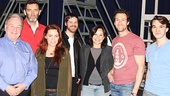 The Last Ship - Meet & Greet - OP - 4/14 - Fred Applegate - Jimmy Nail - Rachel Tucker - Michael Esper - Sally Ann Triplett - Aaron Lazar - Collin Kelly-Sordelet