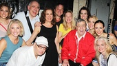 Bullets Over Broadway - Backstage - OP - 6/14 - Jerry Lewis - Cast