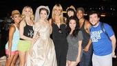Cinderella - Backstage - OP - 7/14 - Heidi Klum - cast