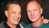 THe Last Ship - Backstage - 10/14 - Tom Hanks - Sting