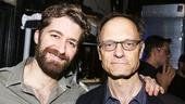 Finding Neverland - Bakcstage - 6/15 - Matthew Morrison -  David Hyde Pierce