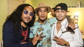 Hamilton - backstage - 8/15 -  Rich and Tone Talauega  - Seth Stewart
