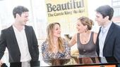 Beautiful: The Carole King Musical - Tour cast - Meet the press - 9/15 - Liam Tobin, Abby Mueller, Becky Gulsvig and Ben Fankhauser