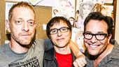 Hedwig and the Angry Inch - Taye Diggs - closing - 9/15 - Stephen Trask, Michael Mayer - David Binder